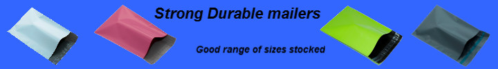 """A3 Plastic Mailing Bags 305mm x 405mm 12"""" x 16"""" ALSO   300mm x 350mm / 12"""" x 13.75"""""""