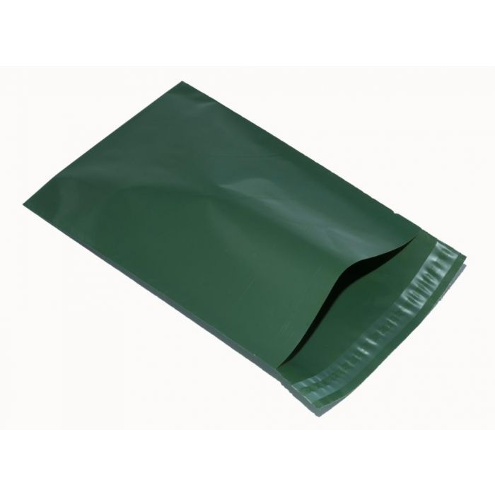 Olive Green poly mailer Eco mailing bag size 305mm x 405mm 12 x 16 large mailing bag... More Quantity below