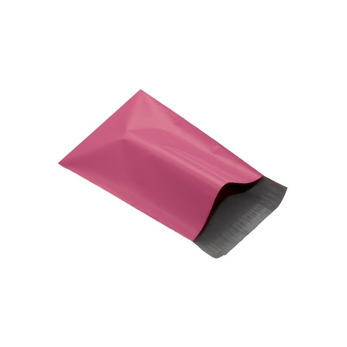 100 Pink plastic, fully recyclable mailer mailing bag size 355mm x 508mm large mailing bag