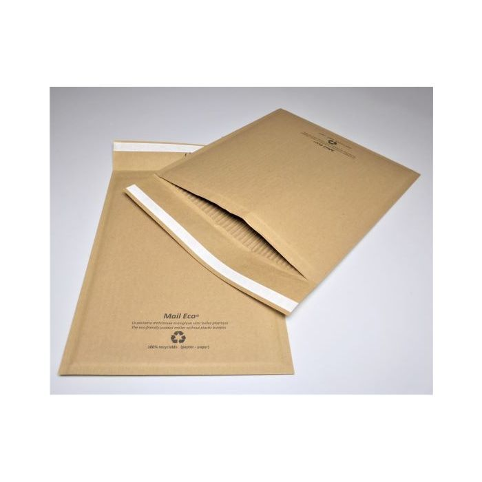 100 C/0 All paper made padded envelopes size 150mm x 207mm
