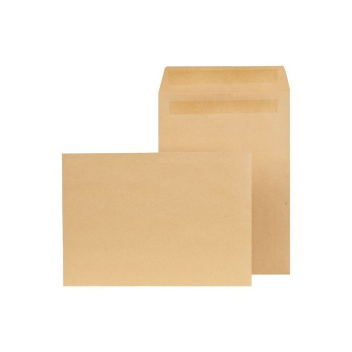 250 x Brown C5 Congo Manilla Self Seal Plain Envelopes size to suit A5 material Size 168mm x 235mm.....See More Quantity