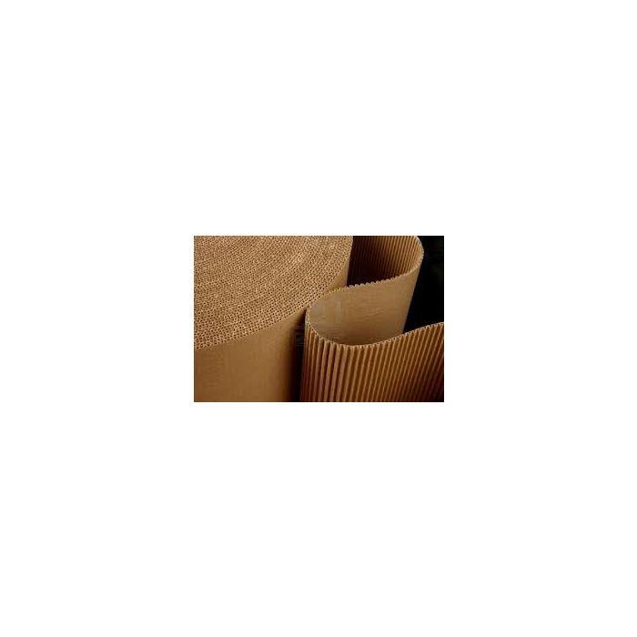 1 x corrugated cardboard wrap roll 300mm x 75 Mtr long roll