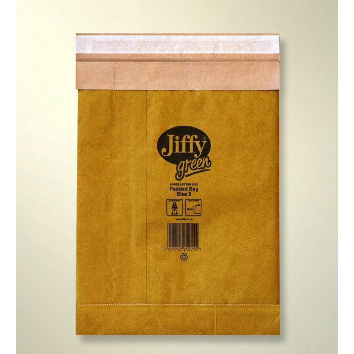 Jiffy Eco padded envelopes all paper made from recycled newspaper