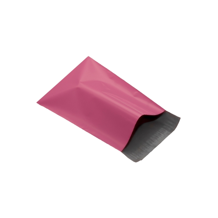 500 Pink plastic mailer bags, mailer post envelopes bags strong size 160mm x 230mm or 6 x9 inches