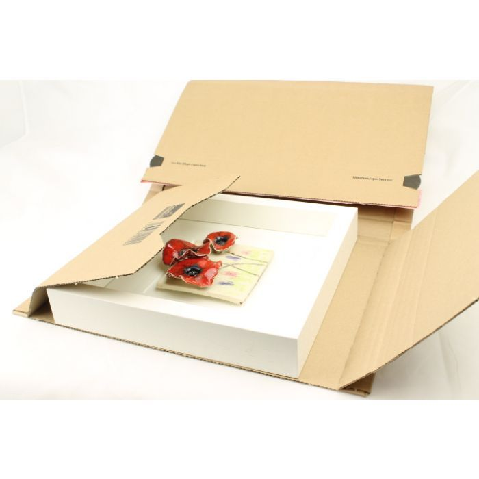 40 Cardboard Book Wraps, or Book & Picture Frame packaging A4+ size 325mm x 250mm