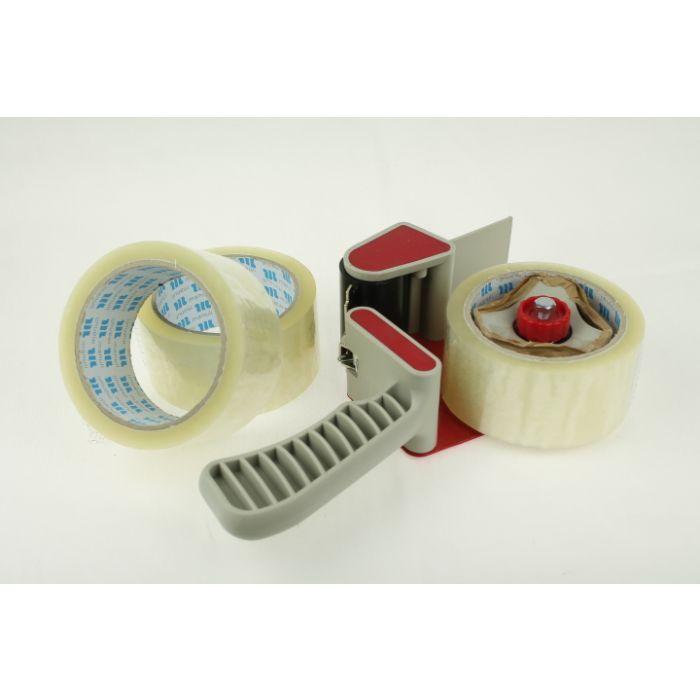 Parcel sealing tape dispenser gun, Hand held for 3 inch or 75 mm packaging tape