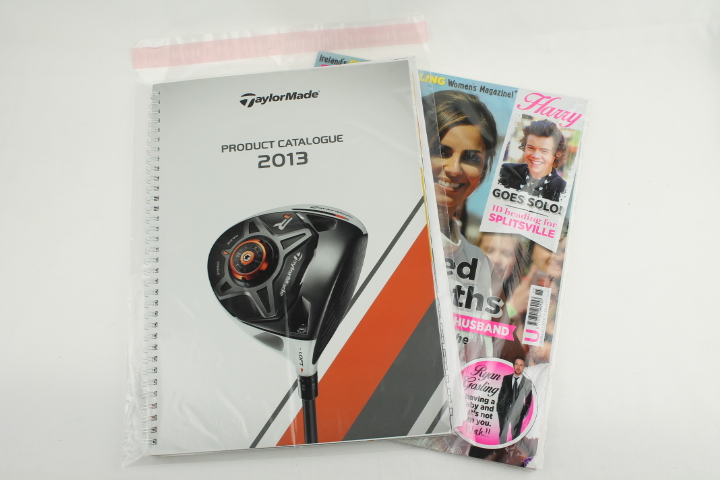 Clear Plastic mailers for magazines