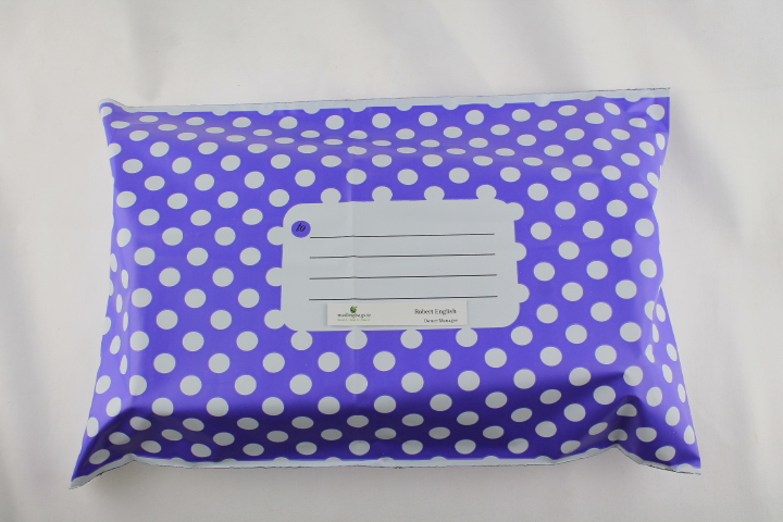 Divinely different Polka Dot mailer