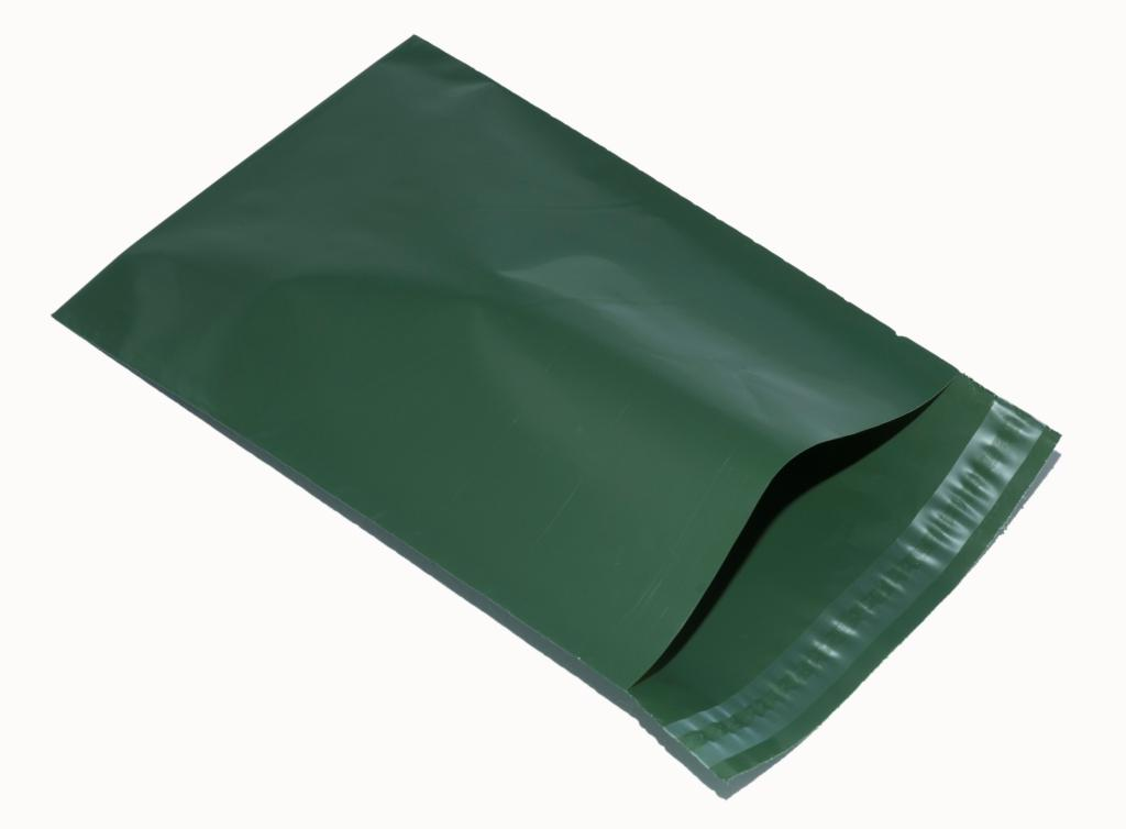 Bio degradable Eco Olive Green Mailers